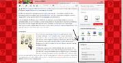 Riquadro categorie - Screenshot