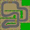 Circuito di Mario 2 Mappa - SMK