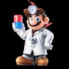Dr. Mario Artwork - Super Smash Bros. per Nintendo 3DS e Wii U