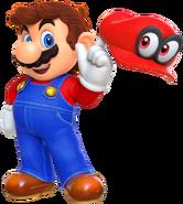 Mario Artwork - Super Mario Odyssey