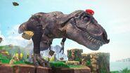 T-Rex Capturato Screenshot - Super Mario Odyssey