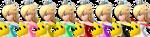 Colori di Rosalinda Super Smash Bros. Wii U