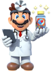 Dr. Mario Artwork - Dr. Mario Miracle Cure