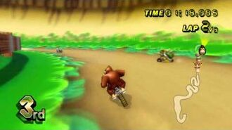 Mario Kart Wii (Wii) walkthrough - GCN DK Mountain