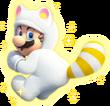 Mario Tanooki Bianco - Super Mario 3D World
