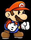 Mario (arrabbiato) Artwork - Paper Mario Il Portale Millenario