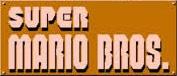 Super Mario Bros. scritta