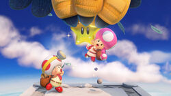 Captain Toad Treasure Tracker Intro - Furto della stella