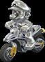 Mario Metallo Sprite - MK8
