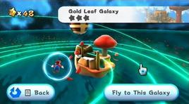 Gold Leaf Galaxy