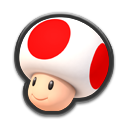 Toad Icona - Mario Kart 8