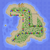 Spiaggia Koopa 2 Mappa - SMK