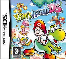 Yoshi's Island DS Boxart EUR
