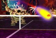 Skelobowser Mario Tennis Open in campo