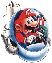 Mario Artwork - Mario's Time Machine