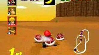 Mario Kart 64 - Kalimari Desert