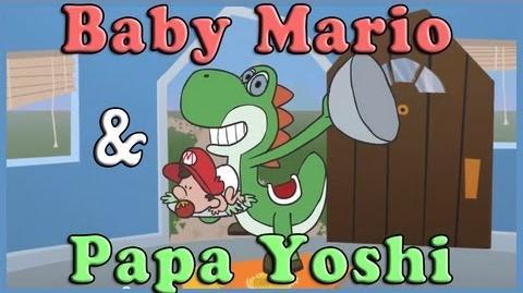 Baby Mario & Papa Yoshi