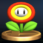 SSBB Trophy 510 Fire Flower