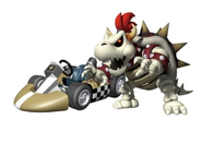 Artwork Skelobowser Mario Kart Wii