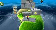 Galassia Uovo (Pianeta dei Blocchi di pietra) Screenshot - Super Mario Galaxy