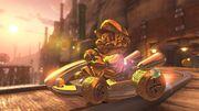 Mario dorato Mario Kart 8 Deluxe