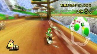 Mario Kart Wii (Wii) walkthrough - DS Yoshi Falls