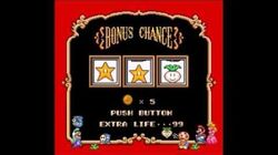 Super Mario Bros 2 SNES Bonus Chance slot machine