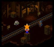 Scheggiastella Arancione Screenshot - Super Mario RPG Legend of The Seven Stars