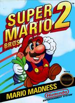 Super Mario Bros. 2 - Boxart
