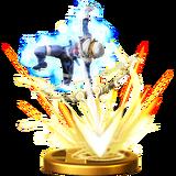 Freccia di luce Wii U trofeo