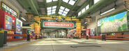 Linea di partenza Mariopolitana Screenshot - Mario Kart 8