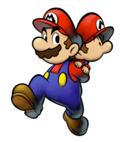 Mario, Baby Mario Artwork - Mario & Luigi Fratelli nel Tempo