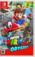 Super Mario Odyssey - Box Art NA