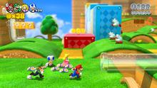 Giardino Rotante Screenshot - Super Mario 3D World