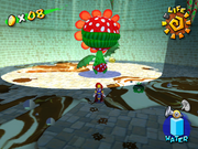 Pipino Piranha Screenshot - Super Mario Sunshine