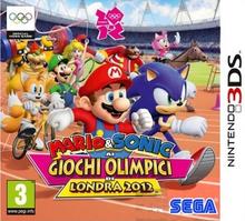 Mario & Sonic ai Giochi Olimpici di Londra 2012 3DS - Boxart Ita