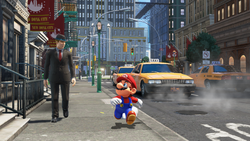 New Donk City Screenshot - Super Mario Odyssey