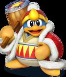 King Dedede Artwork - Super Smash Bros. per Nintendo 3DS e Wii U