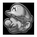 Mario Metallo Icona - Mario Kart 8
