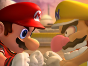 Mario e Wario Screenshot - Mario Smash Football