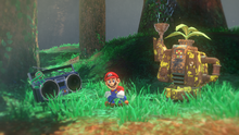 Foresta, Stereo e Robot Innaffiatoio Screenshot - Super Mario Odyssey