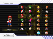 MKWii Roster