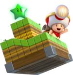 Capitano Toad - Super Mario 3D World