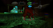 Laboratorio di Cranky Screenshot - Donkey Kong 64
