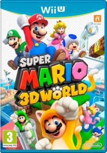 Super Mario 3D World - Boxart Eur