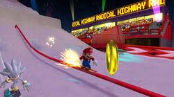 Ring Mario & Sonic Giochi Olimpici Invernali Snow Cross Sogno