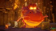Montagna Magma Boss - Screenshot - Captain Toad TT