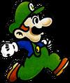 Luigi Artwork SMB2