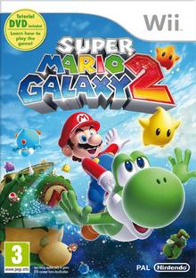 Super Mario Galaxy 2 - BoxArt EUR