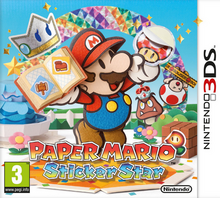Paper Mario Sticker Star - Boxart EUR